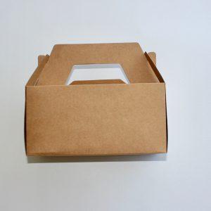 caja en 1 pieza, tipo maletin