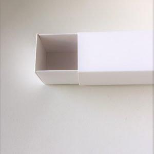 caja fosforera blanca 21x5x5