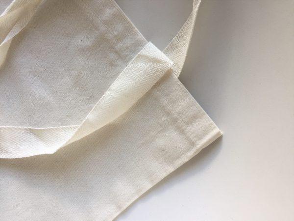 bolsa lienzo con manija 30x40