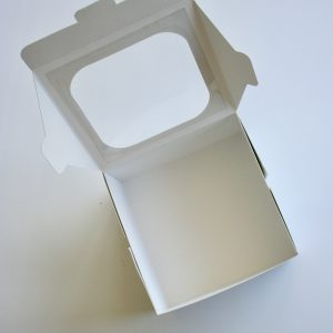 Caja con Visor 17x17x10