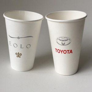 vaso polipapel con logo