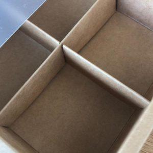caja 16x16x5 cm