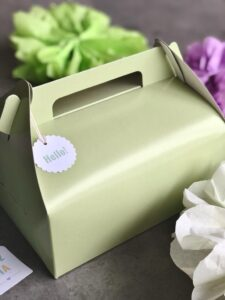 maletín verde